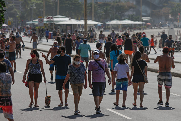 組圖:巴西疫情嚴峻 確診數突破266萬