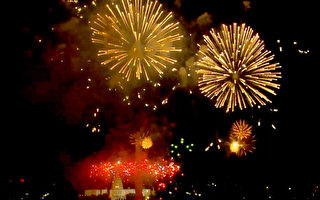 組圖:慶獨立日 美國舉辦盛大煙火表演
