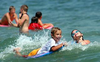 【新澤西疫情7·21】熱浪來襲 海灘人滿為患