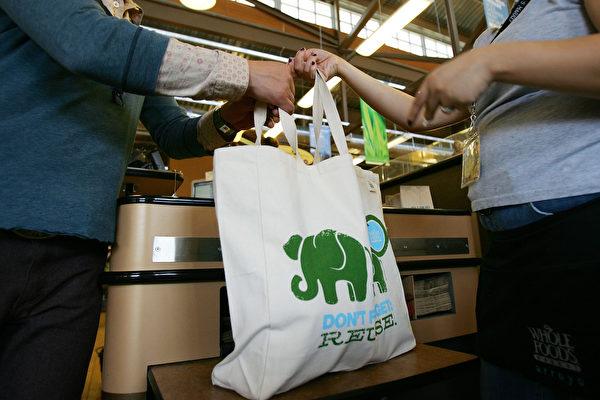 麻州重新允许商店使用环保袋