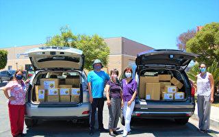 聖地亞哥臺灣中心向當地醫院捐醫護品