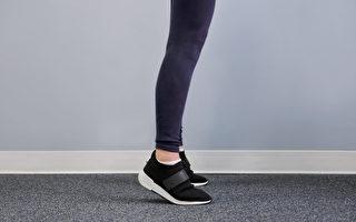 踮腳尖能消水腫、防骨鬆,是低成本高效益的簡單運動。(健康1+1/大紀元)