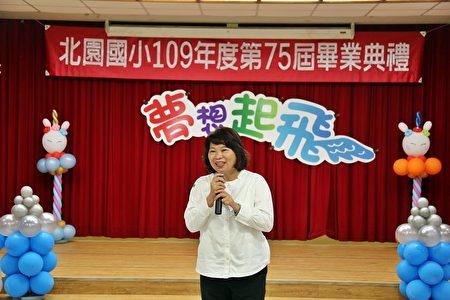 市長黃敏惠表示,投資教育是最值得的事情,因為每一個孩子都是獨一無二的,正派、善良、道德與品格是大家最重要的資產。