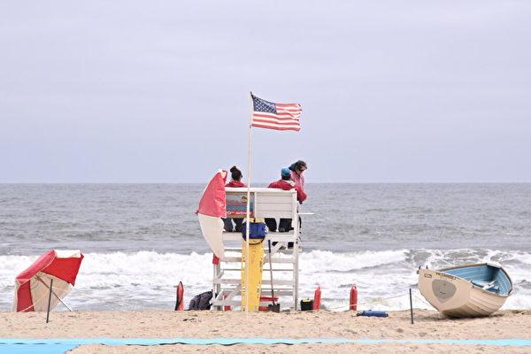 勇救新泽西海滨溺水女子 男子感谢上天安排