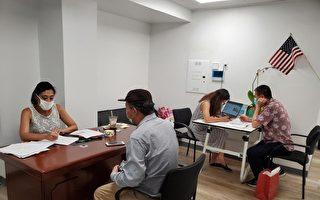 黃敏儀助300居民申請房租補助