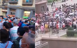 【视频】大连99条客运线停运 检测点人挤人