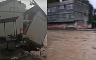 多省市有大暴雨 雲南昭通洪澇致3死