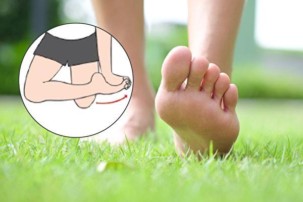 脚趾弯曲,身体就会变歪,并引起疼痛。(Shutterstock)