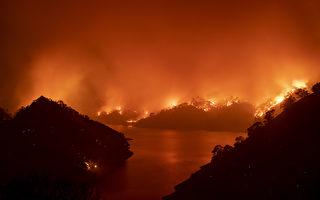 加州大火持續肆虐 川普宣布重大災害
