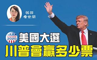 【薇羽看世間】2020美國大選 川普會贏多少票