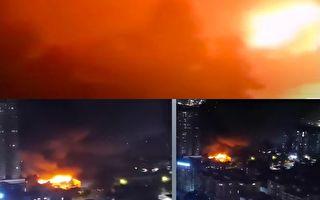 【視頻】廣州一4s店著火 一分鐘吞噬整個車間