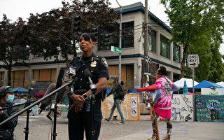 西雅圖警察局長對大幅裁減警察資金表擔憂