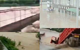 【视频】梅雨持续62天 岷江等21条河超警