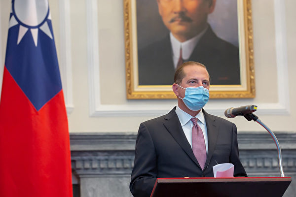 美部长访台 分析:防疫产业供应链去中国化