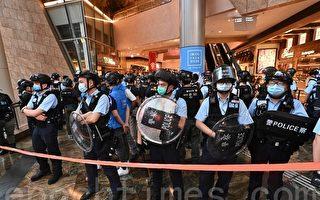 组图:港人发起勿忘831太子站周年活动遭拦查