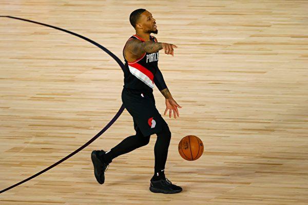 NBA:利拉德率領開拓者搶得季後賽席位