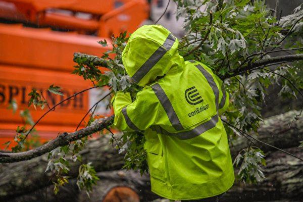 爱迪生电力公司预计9日修复全市停电