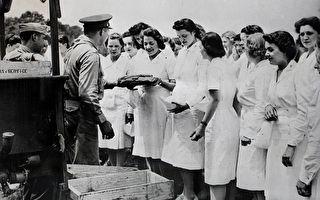二戰護士105歲生日 美國市府辦遊行致敬