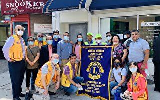 國際獅子會向尼泊爾社區移民捐防疫物資