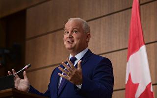 """""""加拿大优先""""保守党领袖对中共态度强硬"""