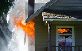 美国乔治亚州三少年大火中救人
