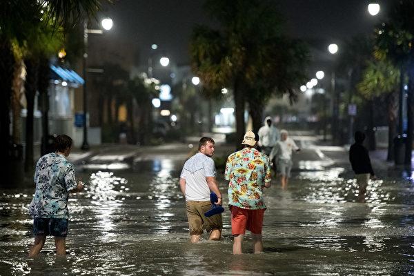 伊萨亚斯登陆北卡带来龙卷风 酿1死多人失踪