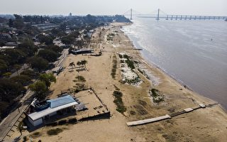 組圖:阿根廷巴拉那河三角洲持續乾旱
