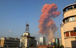 组图:黎巴嫩发生大爆炸 至少4000人受伤