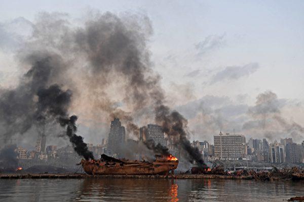 黎巴嫩男子被炸飛 漂流海上30小時奇蹟獲救