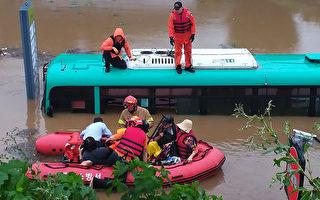 韓國恐經歷史上最長雨季 至少26人已喪生