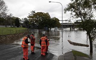 组图:澳洲新南威尔士州水患 居民撤离