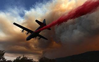 几十场大火肆虐加州 至少5死包括飞行员