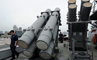 美国冷战武器今派用场 鱼叉反舰导弹
