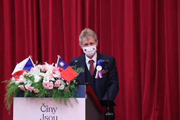捷克參議長:自由真理正義是台灣的劍與盔甲