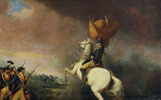 图为美国画家William Ranney的油画《普林斯顿战役中的华盛顿将军》。(公有领域)