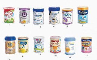 香港九款婴儿配方奶粉验出致癌物