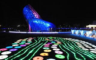 追光逐影艺术季 光与影重新诠释高跟鞋教堂
