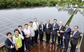 首座樹電共生 奇美打造綠電綠樹共存電廠