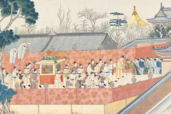 清·孙温绘《红楼梦》插图。(公有领域)