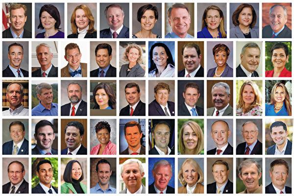 美維州49議員致信蓬佩奧:制止中共迫害法輪功