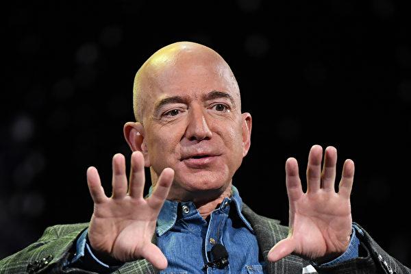 貝佐斯財富超2000億 馬斯克成第四富
