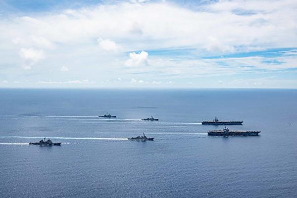 台湾国防部曝共军舰队首度接近夏威夷