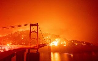 熊熊野火肆虐美西三州 逾8死包括1岁婴儿