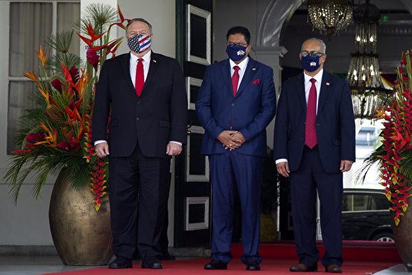 蓬佩奥访问南美联合抗共 中共跳脚