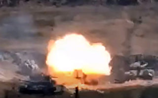 亚美尼亚和阿塞拜疆爆发冲突
