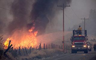 山火蔓延 熱浪來襲 華州被「炙烤」