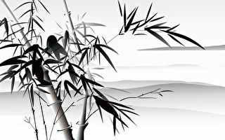 山水画, 竹