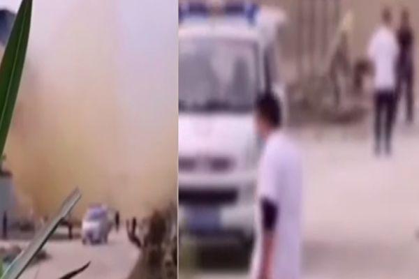 【视频】湖北天门一化工厂爆炸 至少5死1伤