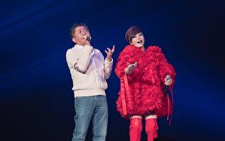 詹雅雯再度唱進小巨蛋 邀陳時中登台高歌