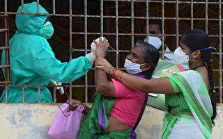 組圖:印度疫情嚴峻 確診數突破580萬